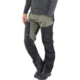 Lundhags Antjah II Pantaloni Uomo, nero/verde oliva